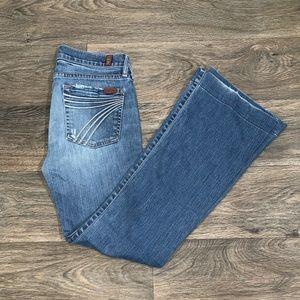 7 FOR ALL MANKIND women's DOJO jeans size 27